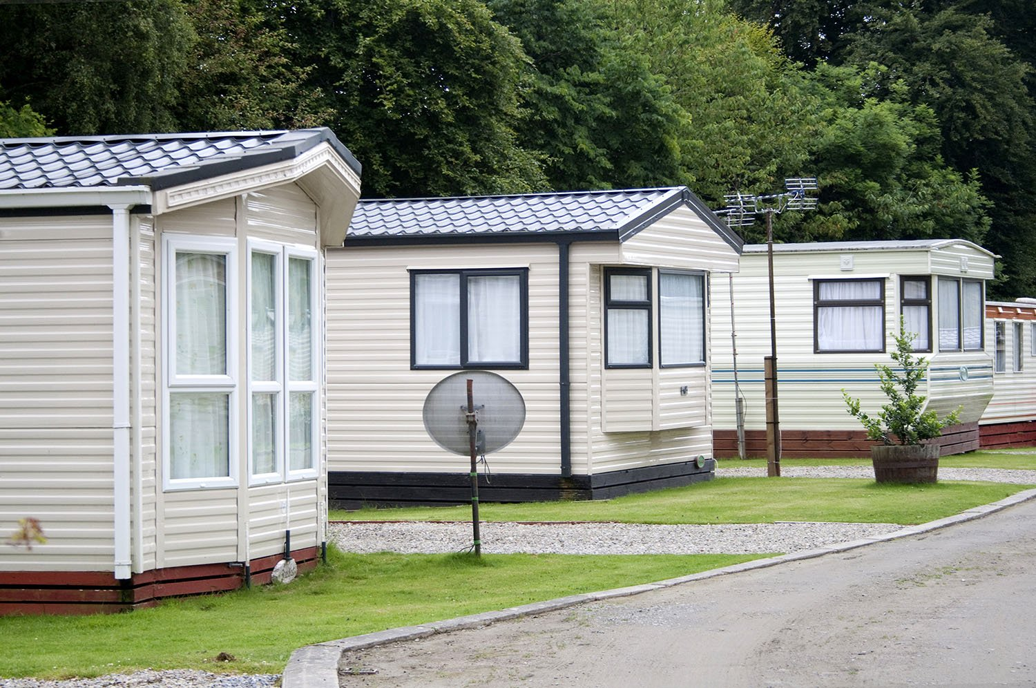 sell a mobile home with land